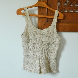Crocheted Tank Top